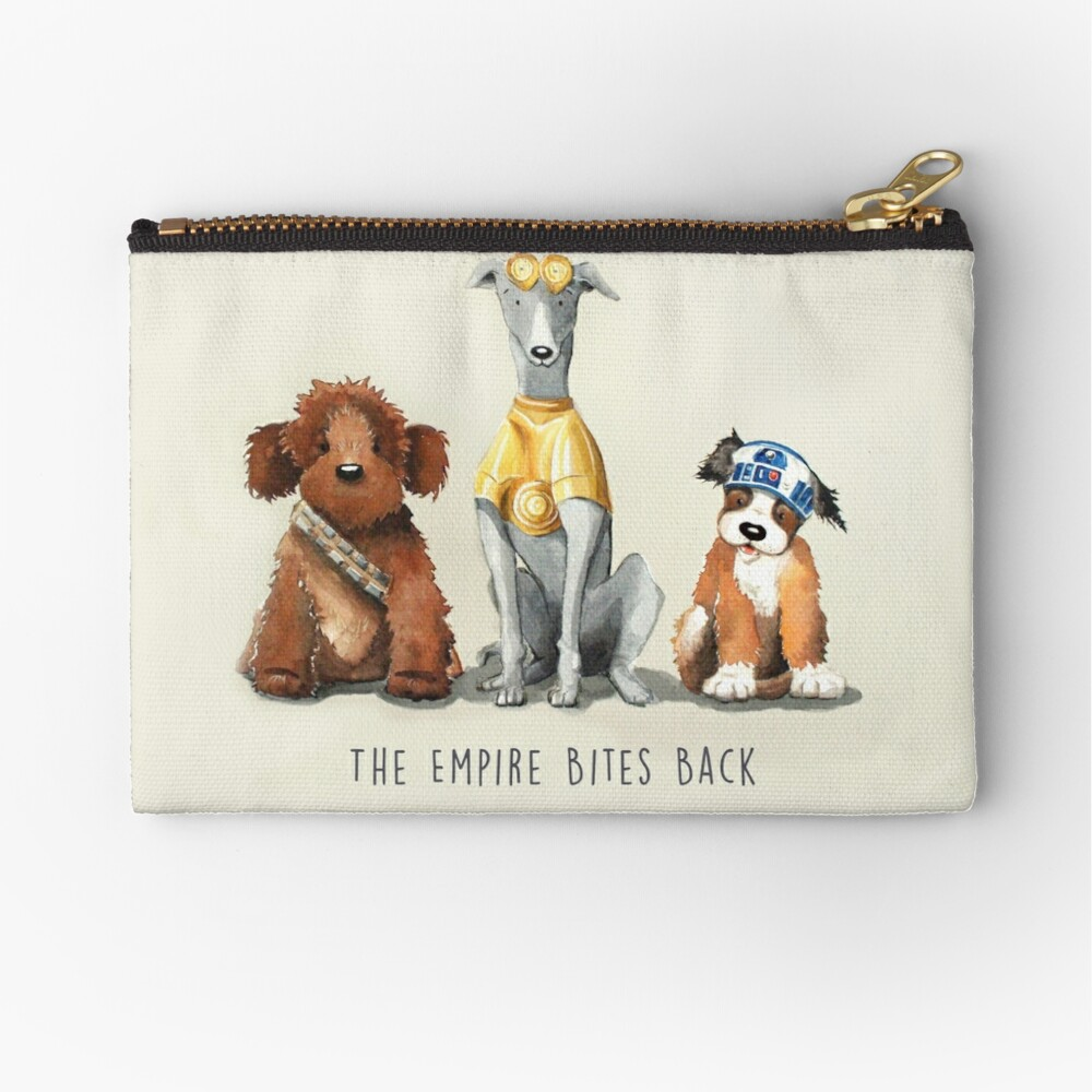 Rebel Dogs Zipper Pouch