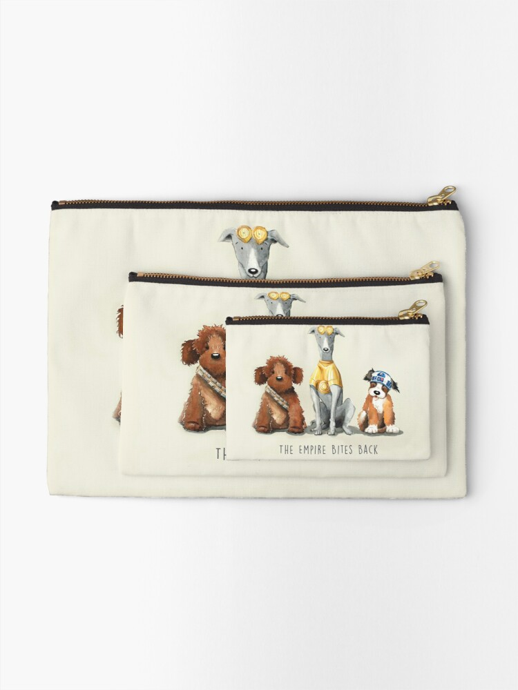 Alternate view of Rebel Dogs Zipper Pouch