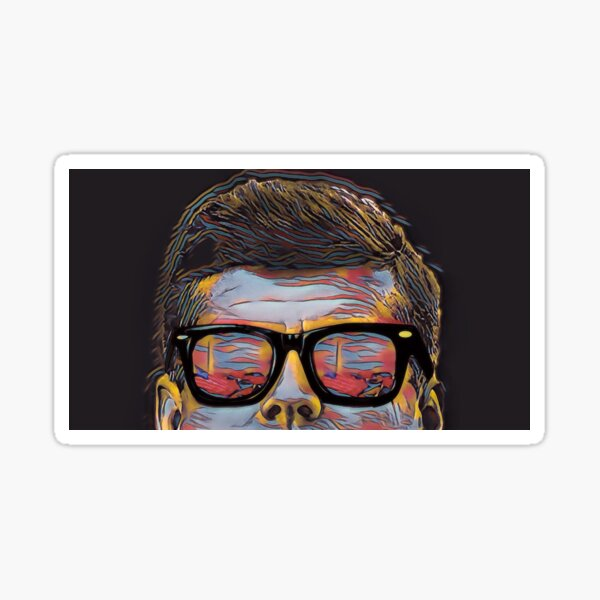 JFK Pop Art Sticker