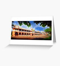 Queens Hotel, Townsville. Greeting Card