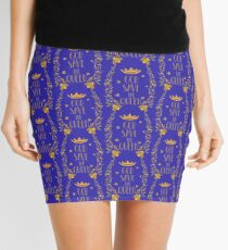 Save the Bees God Save the Queen Bee Mini Skirt