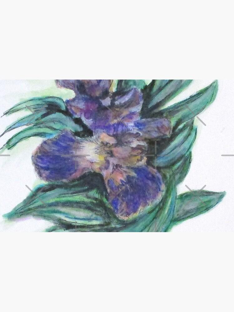 Spring Iris Bloom by cjkell