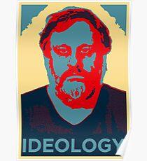 ZIZEK IDEOLOGY OBEY POSTER OBAMA HOPE PCM MEMES Poster