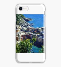 Vernazza Italy iPhone Case/Skin