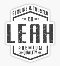 Leah Sticker