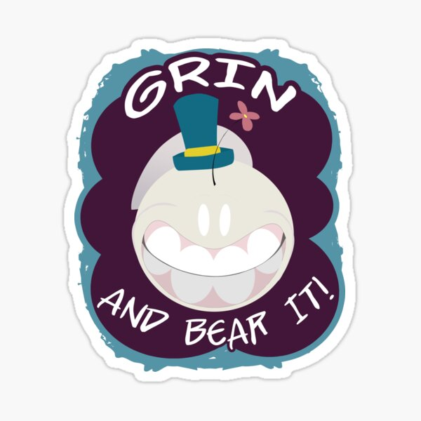 Grin And Bear It - Schnell design Sticker