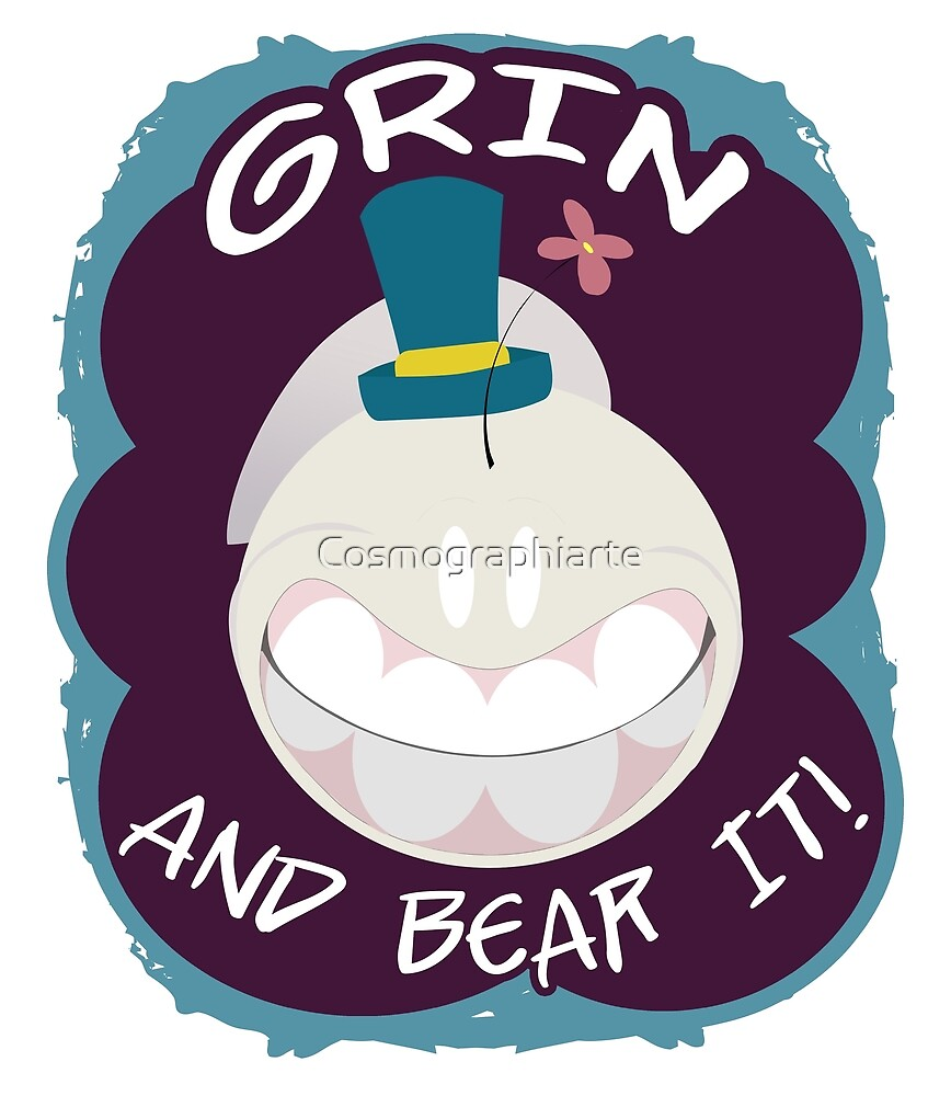 Grin And Bear It - Schnell design by Cosmographiarte