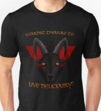 Black Phillip - Wouldst thou like to live deliciously? T-Shirt