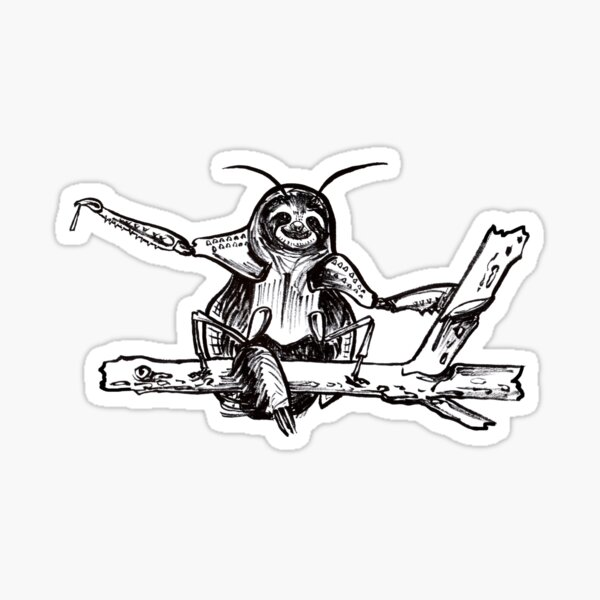 Slothadantis Sticker