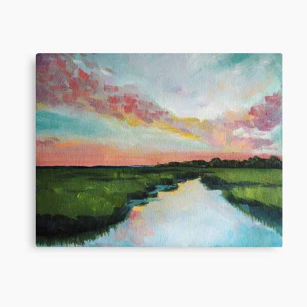 Sorbet Skies | Low Country  Canvas Print