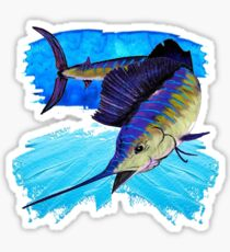 The Perfect Game Fish Sticker