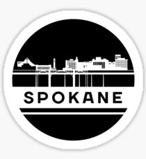 Spokane Sticker Sticker