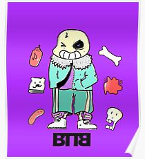 Bad To The Bone - Undertale sans (Normal ver.) Poster