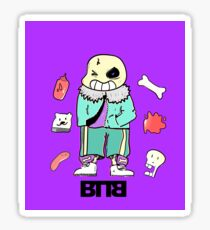 Bad To The Bone - Undertale sans (Normal ver.) Sticker