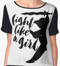 Fight Like A Girl Women's Chiffon Top