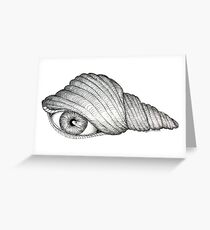 """A """"See"""" Shell  Greeting Card"""