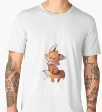 Fox Cute For Fox Sake Men's Premium T-Shirt