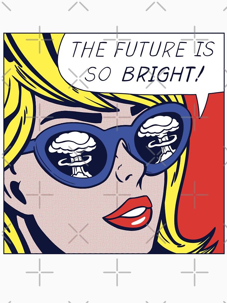 Pop optimistisches Mädchen von Pipperdigs