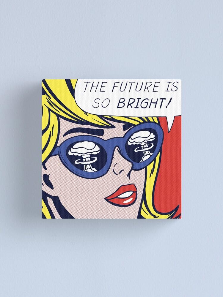 Alternate view of Pop Optimistic Girl Canvas Print