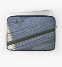 Rustikales Holz Laptoptasche