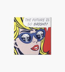 Pop Optimistic Girl Art Board