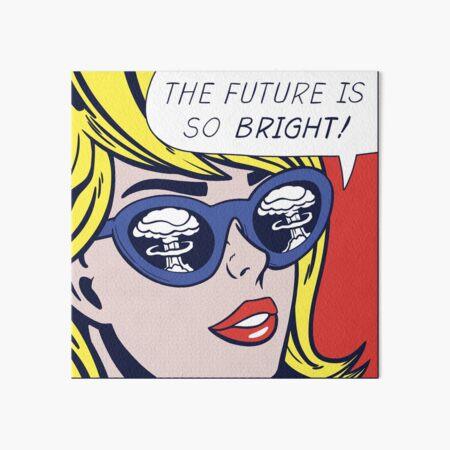 Pop Optimistic Girl Art Board Print