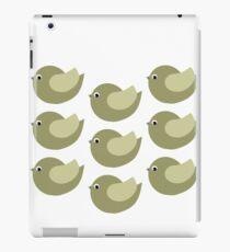 Big Green Birds iPad Case/Skin