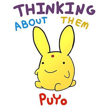 Thinking About Them Puyo by AutumnWyvern