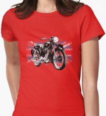 Matchless Motorcycle Autonautcom Womens Fitted T-Shirt