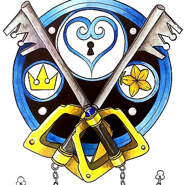 Sora Stained Glass Emblem by SexySeamonster