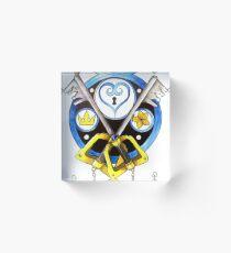 Sora Stained Glass Emblem Acrylic Block