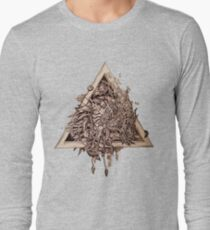 Awesome triangle art  Long Sleeve T-Shirt
