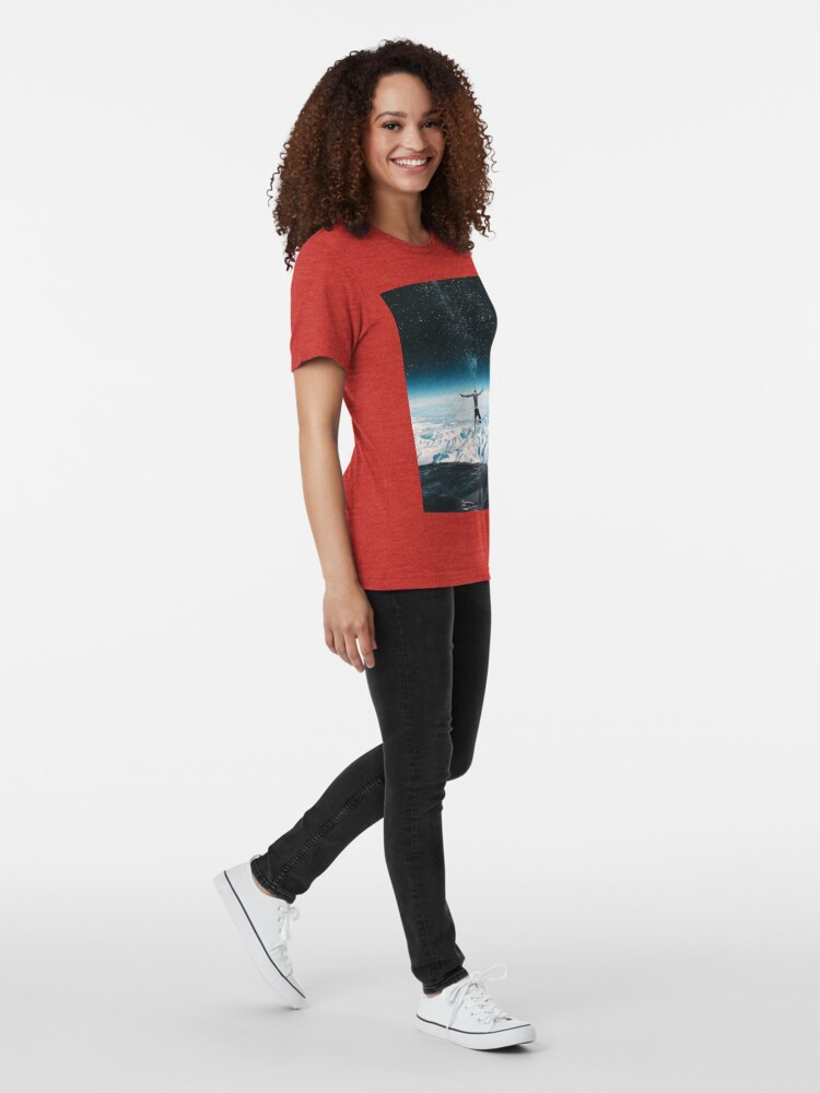 Alternate view of Lifetime Tri-blend T-Shirt
