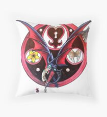 Riku Stained Glass Emblem Throw Pillow