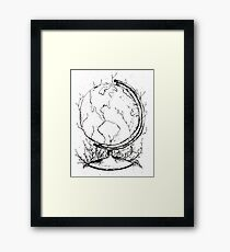 Natural Earth Framed Print