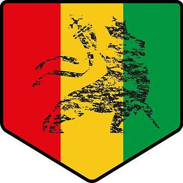Reggae Lion Zion by ElPato