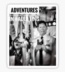 Mormon Elder Rice - Adventures in #Adulting Sticker