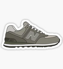 New Balance 574 Illustration Minimalist  Sticker