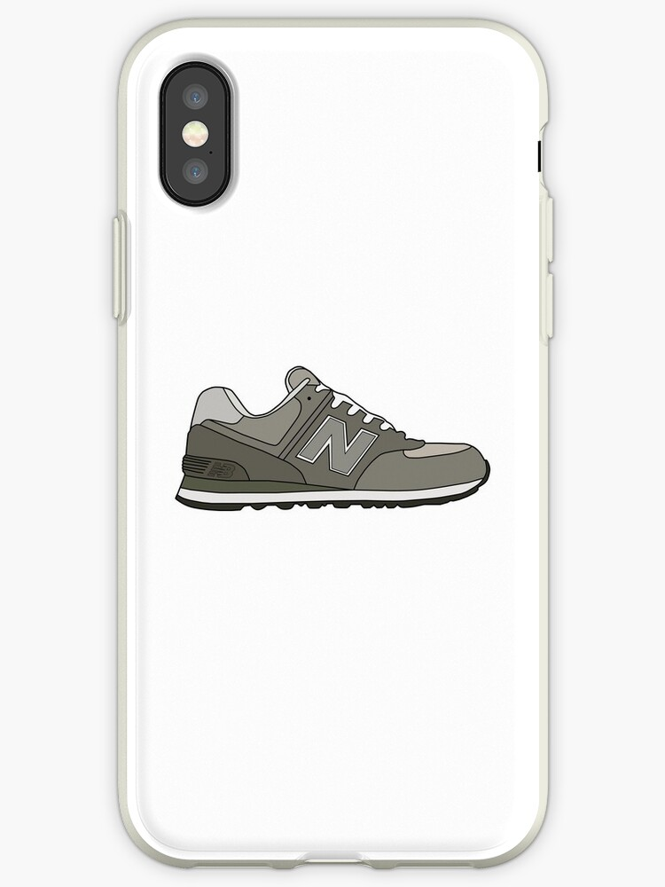 the latest a7fc6 19547 'New Balance 574 Illustration Minimalist ' iPhone Case by Chris Jackson