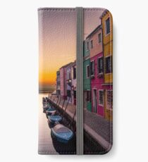 Venice Canal iPhone Wallet