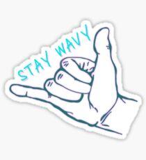 Stay Wavy Sticker