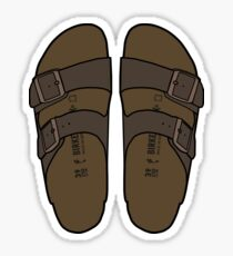 Birkenstock Illustration  Sticker