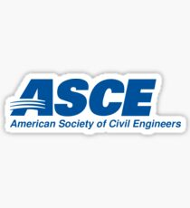American Society of Civil Engineers (ASCE) Sticker