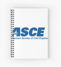 American Society of Civil Engineers (ASCE) Spiral Notebook