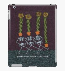 Sunflower Skeletons iPad Case/Skin