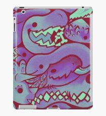 Dinosaur Pattern in purple iPad Case/Skin