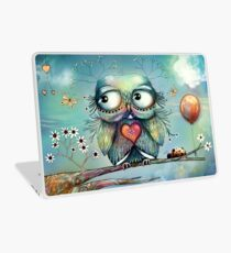 little wood owl Laptop Skin