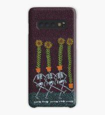 Sunflower Skeletons Case/Skin for Samsung Galaxy
