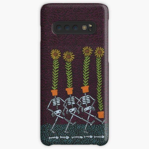 Sunflower Skeletons Samsung Galaxy Snap Case