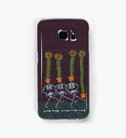 Sunflower Skeletons Samsung Galaxy Case/Skin